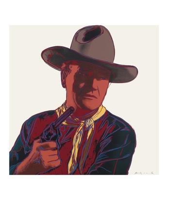 Andy Warhol Cowboys & Indians: John Wayne 201/250 1986