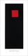 Malevich kazimir rotes quadrat auf schwarz medium