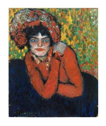 Pablo Picasso Margot 1901