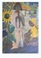 Otto Mueller Zigeuner mit Sonnenblume