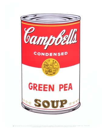 Andy Warhol Campbells Soup Green Pea