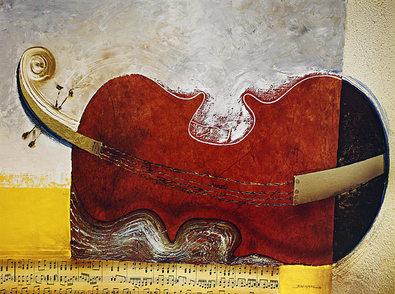 Bremand Le repos du violon