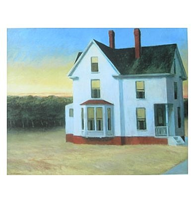 Edward Hopper Sonnenuntergang am Cap Cod