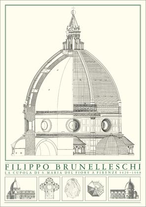 Filippo Brunelleschi Domkuppel Florenz