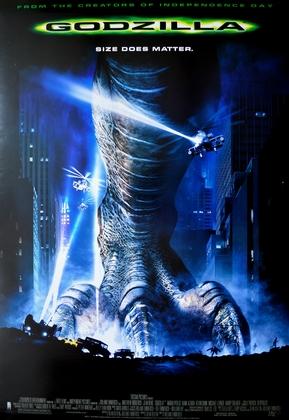 Kinoplakat Godzilla