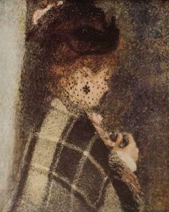 Pierre Auguste Renoir Frau mit Schleier