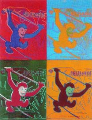 Andy Warhol Four Monkeys (gross)