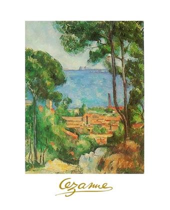 Paul Cezanne Ansicht von Estaque