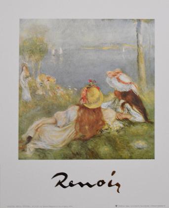 Pierre Auguste Renoir Maedchen in Riva