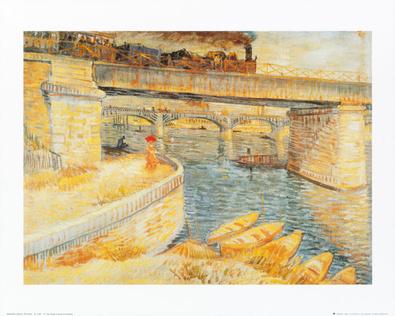 Vincent van Gogh Il ponte di Asnieres