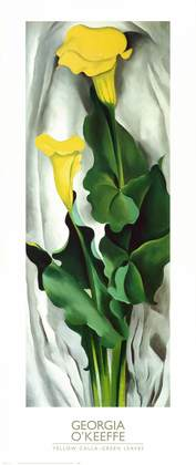 Georgia O Keeffe Yellow Calla