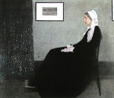 James McNeill Whistler Arrangement in Grau und Schwarz   Die Mutter des K