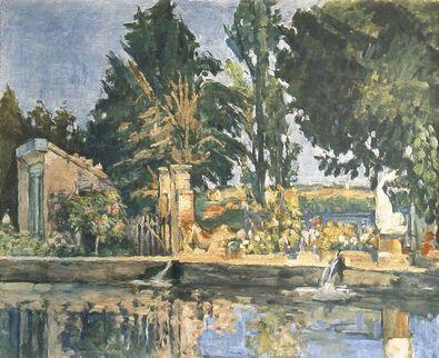 Paul Cezanne Der Park