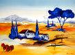 Athena Schenk Mediterranean Landscape I