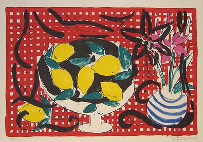 Stefan Szczesny Bowl of Lemons - Birthday Suite