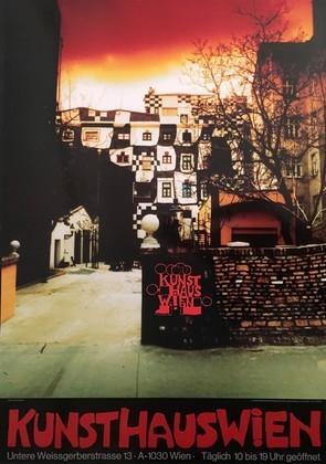 Friedensreich Hundertwasser Kunsthaus Wien rot