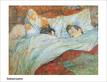 Lautrec Toulouse Le lit