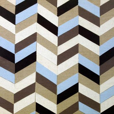 Paula Aspery 4er Set 'Zig Zag' + 'Abacus' + 'Geometric Stripe' + 'Fabric Circle'