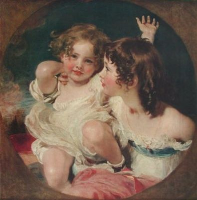 Sir Thomas Lawrence Die zwei Calmady-Kinder