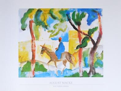 August Macke Eselsreiter