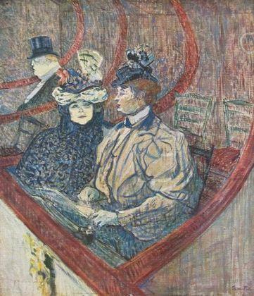 Henri Toulouse-Lautrec La Grande Loge