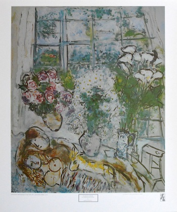 Marc Chagall The white Window