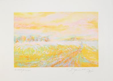 Claude Manoukian Impression jaune