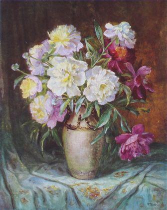Robert Tesar Blumen in einer Vase