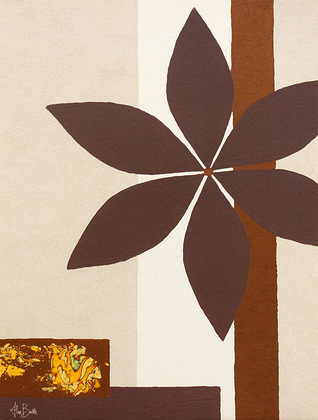 Alan Buckle 2er Set 'Chocolate Flower' + 'Crackled Flower'