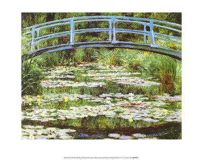 Claude Monet Japanese Bridge, 1899