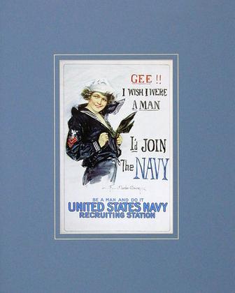 Howard Chandler Christy Gee!! I Wish I Were a Man...