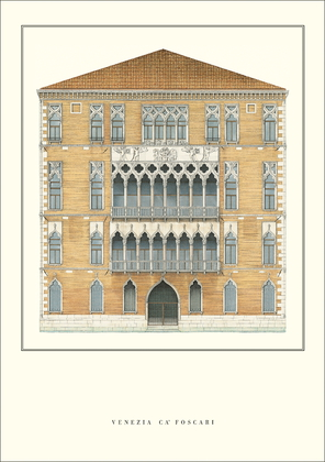 unbekannter Kuenstler Venedig, Ca' Foscari