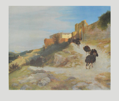 Karl Blechen Aufstieg nach Terni