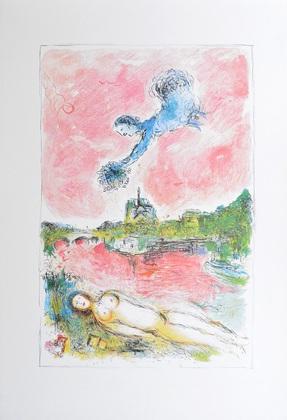 Marc Chagall Paris (Notre Dame)