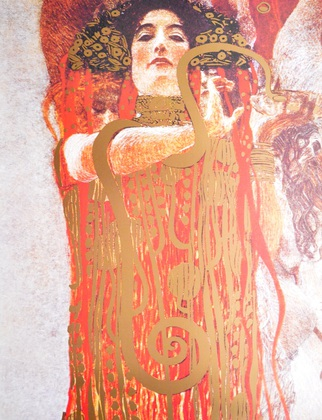 Gustav Klimt Hygieia