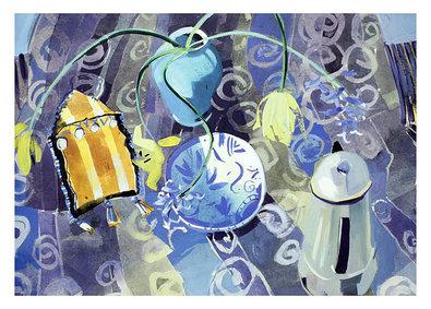 Marion Notmann Gelb und Blau