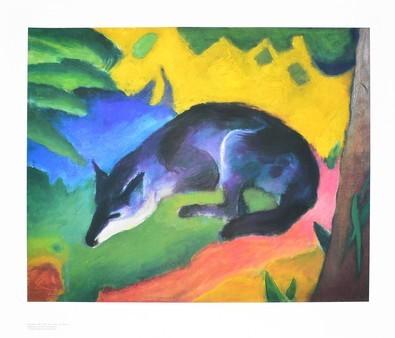 Franz Marc Der blaue Fuchs