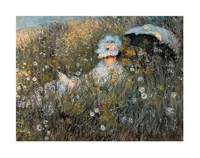 Claude Monet Auf der Wiese