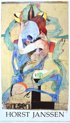 Horst Janssen Foliant Galerie Lüpfert