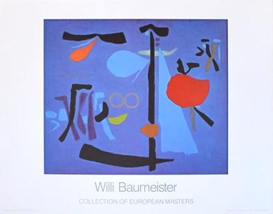 Willi Baumeister Nocturno III