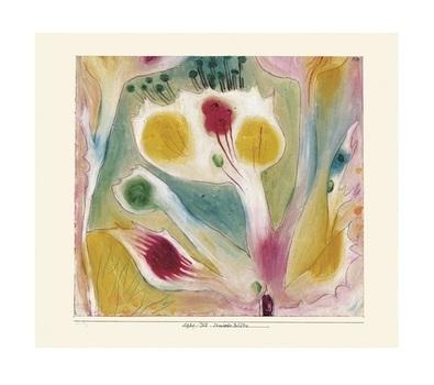Paul Klee Tropische Bluete, 1920