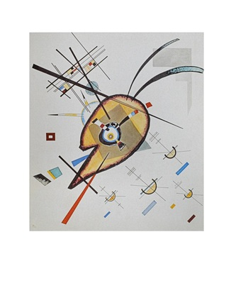 Wassily Kandinsky Aquarell Nr 76 (1923)
