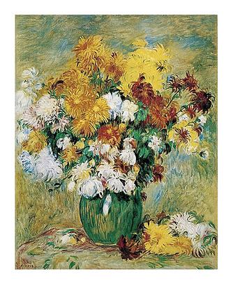 Pierre Auguste Renoir Chrysanthemen