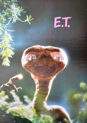 Kinoplakat E.T.