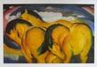 Marc franz die kleinen gelbe pferde 1912 medium