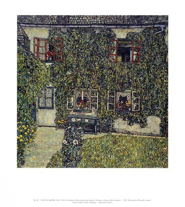 Gustav Klimt Forsthaus in Weissenbach am Attersee, 1912 (K 42)