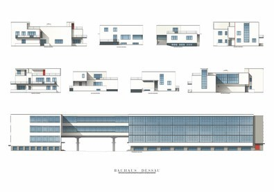 Walter Gropius Bauhaus Dessau