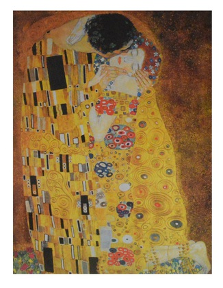 gustav klimt der kuss poster kunstdruck bei. Black Bedroom Furniture Sets. Home Design Ideas