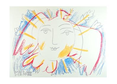 Pablo Picasso Le Visage de la Paix
