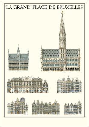 Bruxelles La Grand Place De Bruxelles